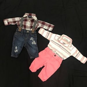 Infant boy bundle sets